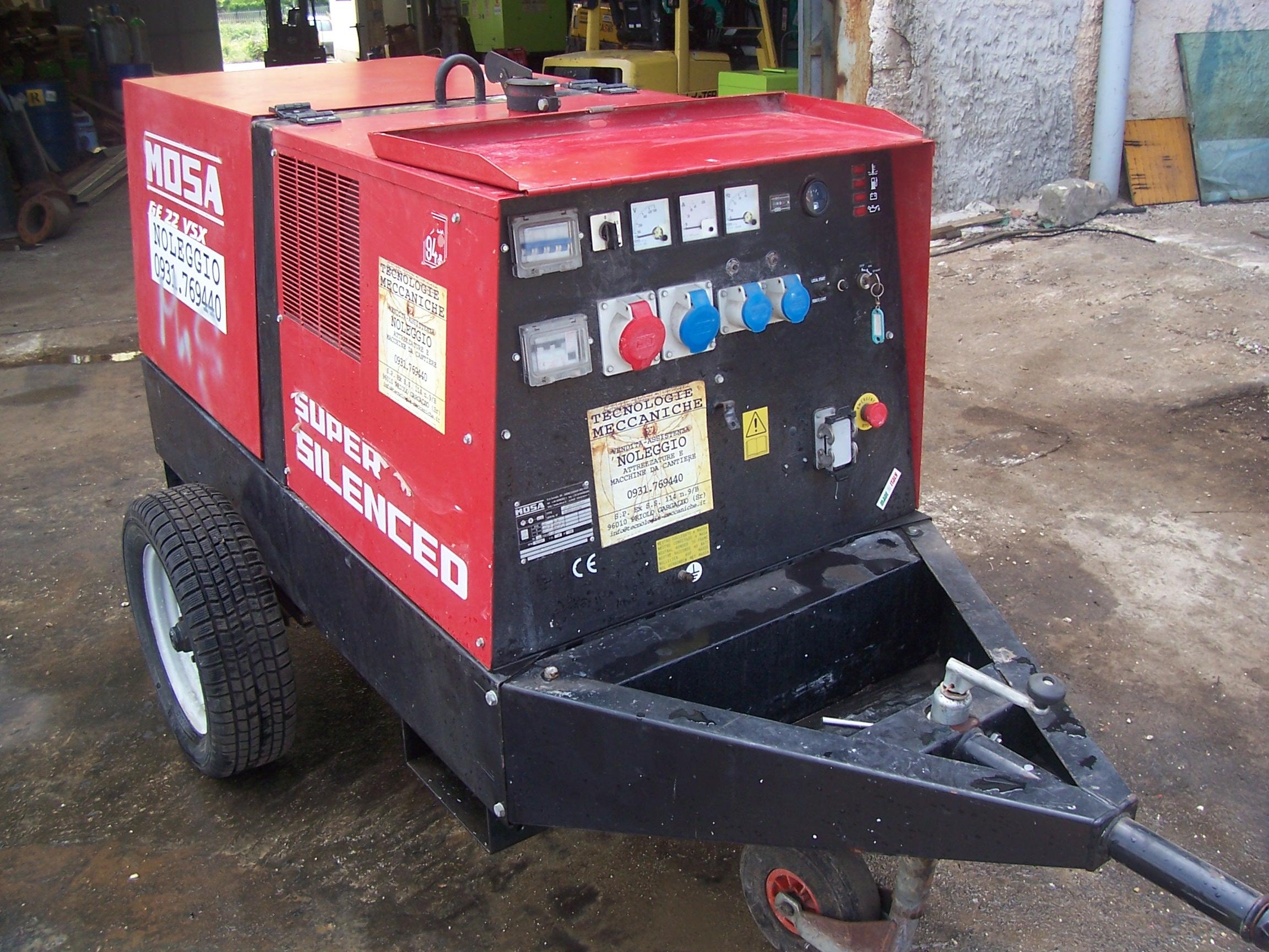 vendita motogeneratore
